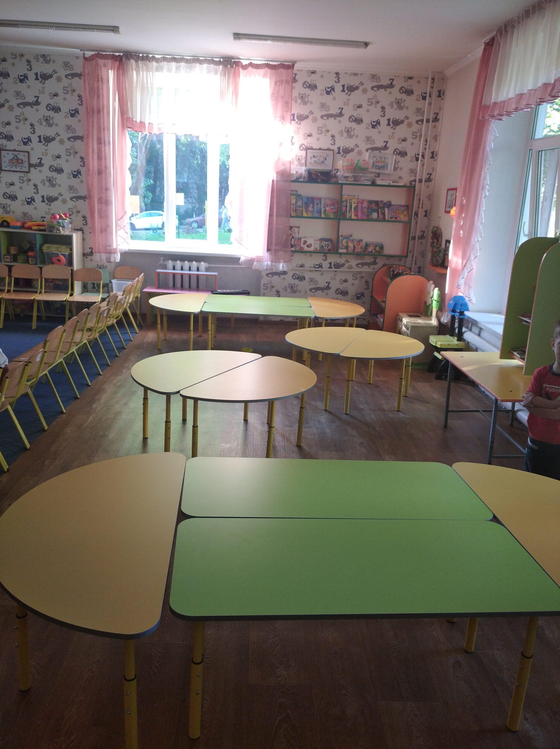Instituția a fost dotată cu mobilier